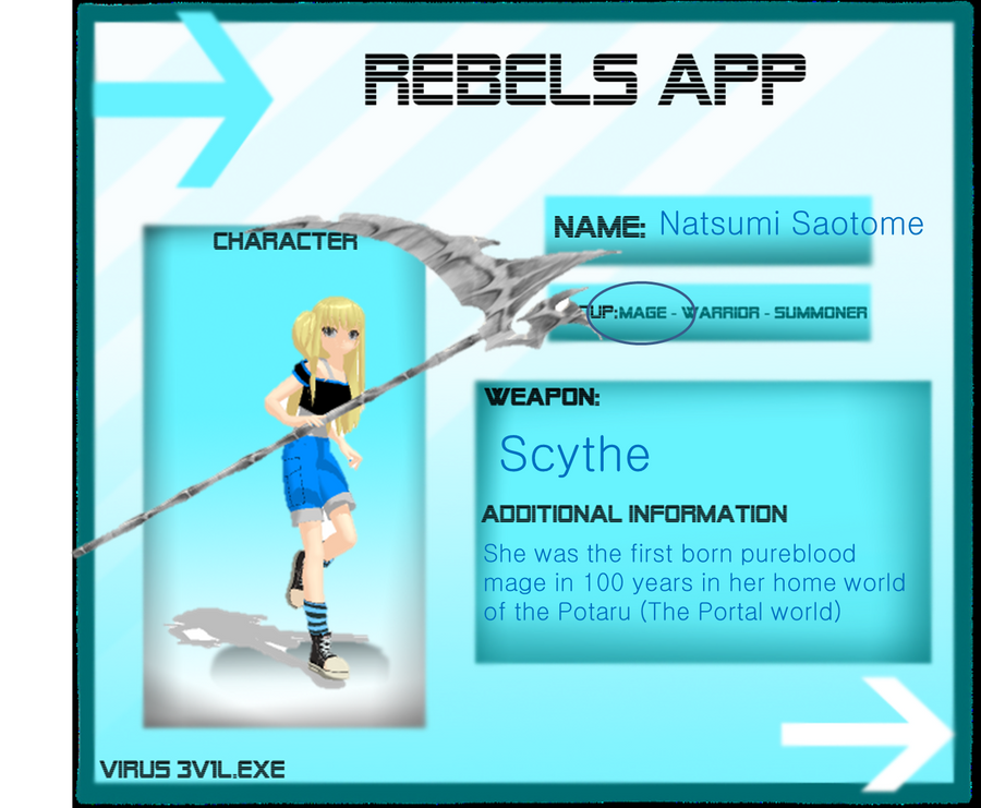 Natsumi Rebels App by Rozz-a