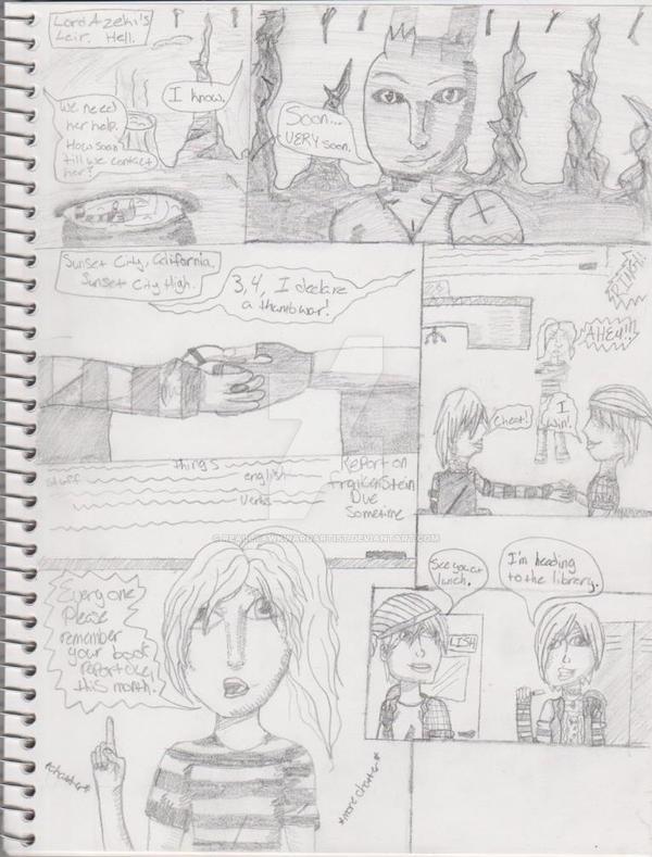 Sorceress page 1: Demon Within by ReallyAwkwardArtist on DeviantArt