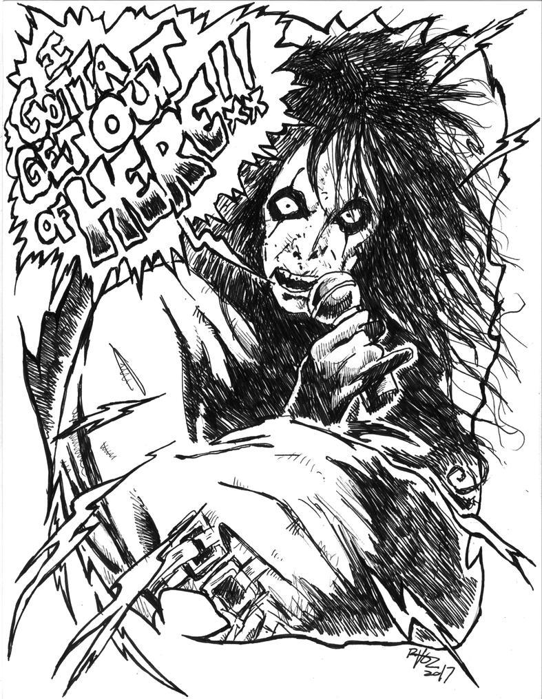 Straightjacket Alice by ragzdandelion