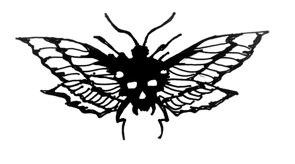 Death Mothra by ragzdandelion