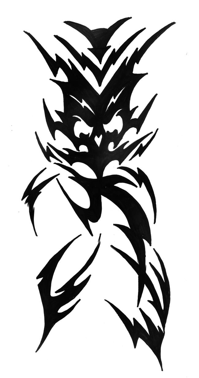 Skull Tattoo Commission 03 by ragzdandelion