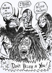 Harsh Demons by ragzdandelion
