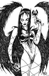 Vampire Lady by ragzdandelion