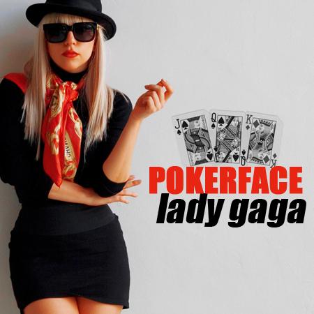 Lady gaga poker face cd cover blackjack car security