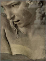 Afflicted young girl by daaram