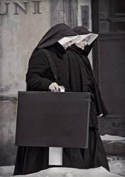 Two Nuns in Krakow