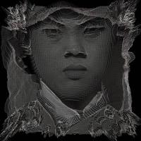Portrait of a young man 3D