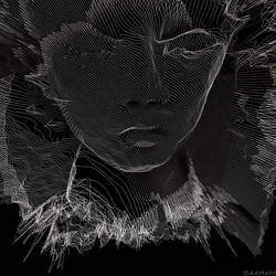 Portrait of a young man II - 3D
