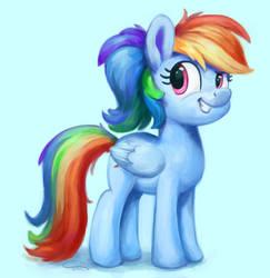 Ponytaildash by aem97