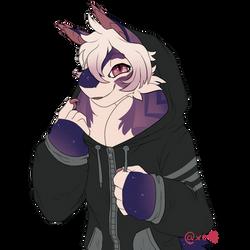 My fave hoodie by Xe-Li
