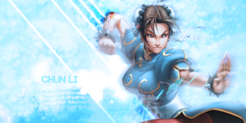 chun li sign by luquitasabee