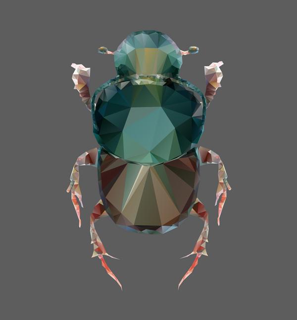 Onthophagus taurus by MerlinTheeMagical