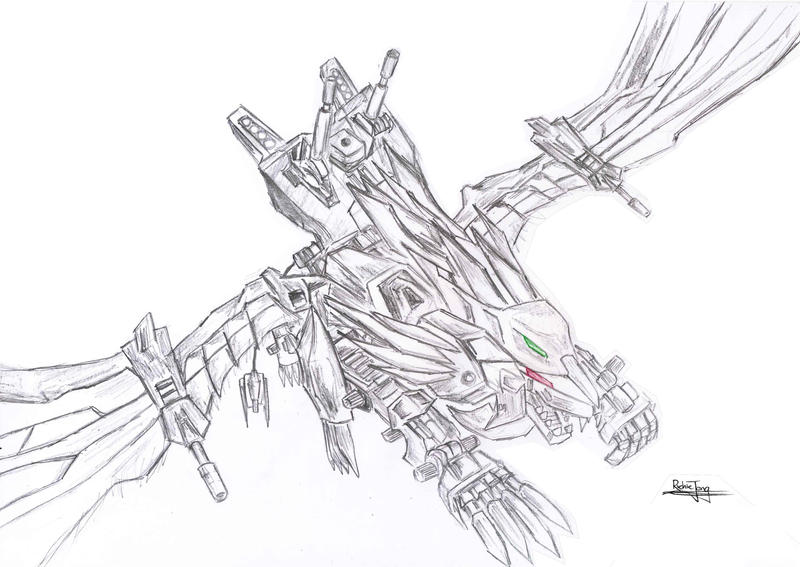 coloring pages zoids - photo#29