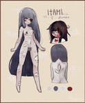 [OPEN auction] unconventional zombie girl
