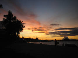 Thailand, Koh Samui, Sunset by antonthegreat