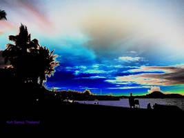 Photoshopped Sunset by antonthegreat