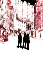 Street in Edinburgh by antonthegreat