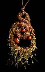mossy pendant by njadean