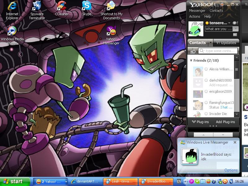 My Desktop 2 by TenseRebecca