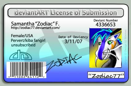 NEW ID CARD ID C: by zodiac77