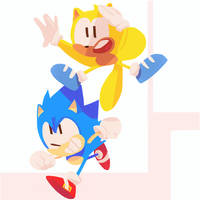 Sonic and Ray - Sonic Mania Plus 4/10