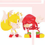 Knuckles and Tails - Sonic Mania Plus 5/10