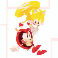 Mighty and Tails - Sonic Mania Plus 7/10