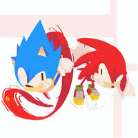 Sonic and  Knuckles and Knuckles-Sonic Mania 9/10