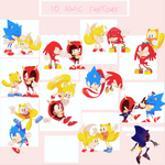 10 Sonic Sketches - Complete Series + Speedpaint