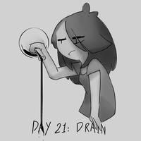 Inktober Day 21: Drain by Lallelol