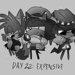 Inktober Day 22: Expensive