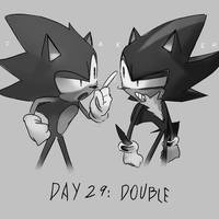 Inktober Day 29: Double by Lallelol