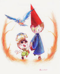 Over the Garden Wall by Lallelol
