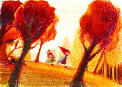 Golden Memories by Lallelol