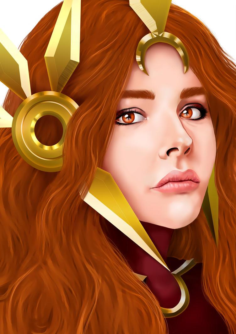Leona League of Legends - Chloe Moretz Inspired by Ragamuffyn
