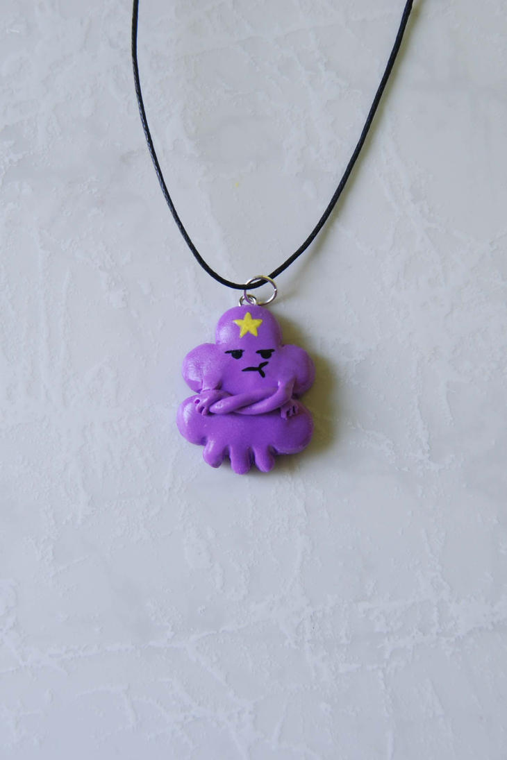 Lumpy space princess pendant - Adventure Time! by Ragamuffyn