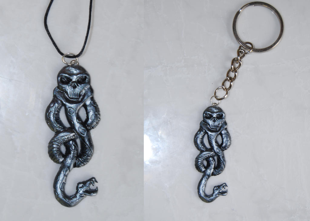 The dark mark (Pendant or Keychain) by Ragamuffyn