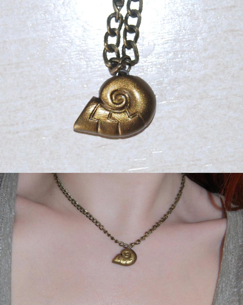 The Little Mermaid Pendant/earrings by Ragamuffyn