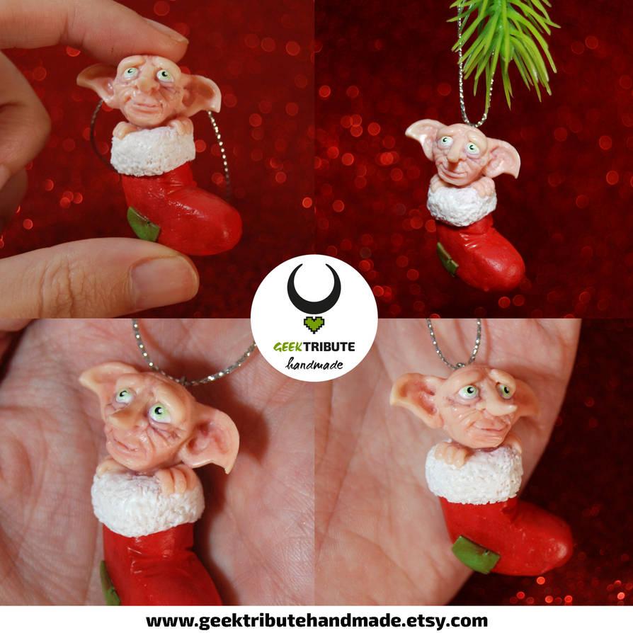 Dobby Christmas Ornament Polymer Clay By Ragamuffyn On Deviantart