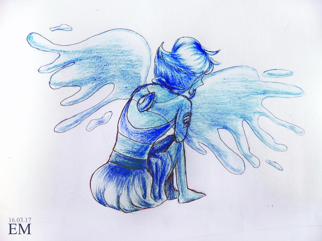 Lapis Lazuli by Steven Universe, Cartoon Network Art by me