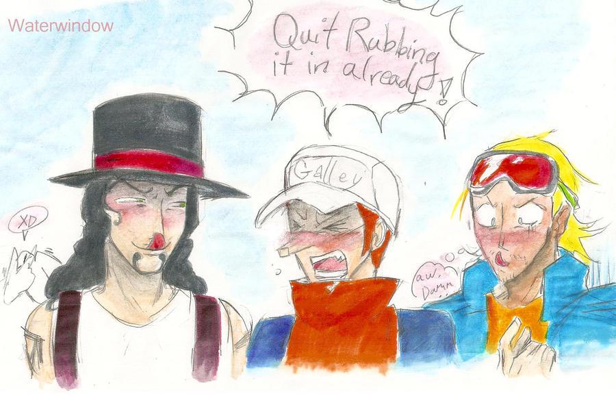 Everyone Pokes Fun at Kaku by Waterwindow