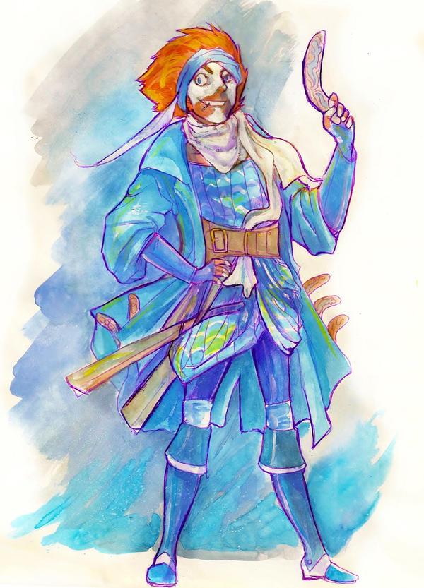 Ye Uld Captain Boomerang by Waterwindow