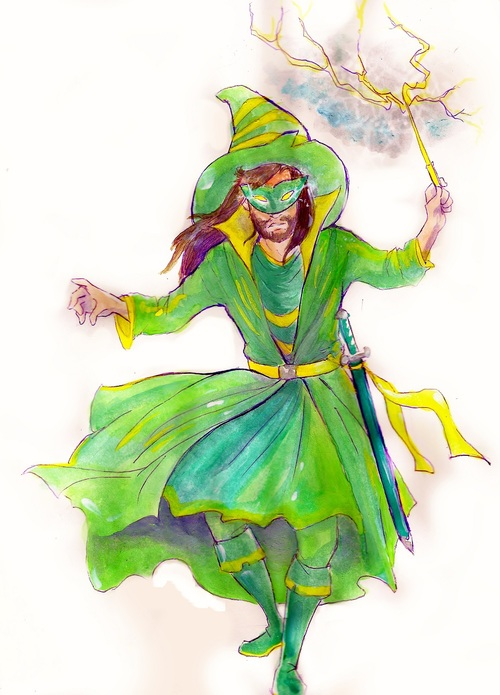 Ye Uld Weather Wizard by Waterwindow