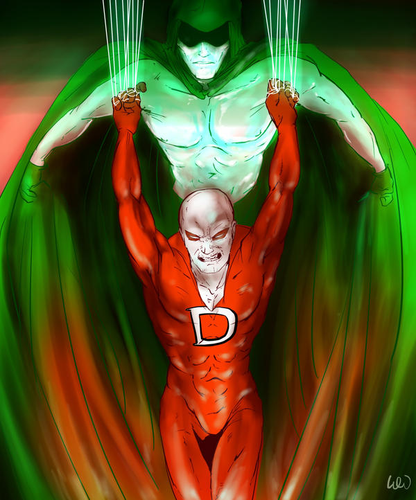 Deadman and the Spectre by Waterwindow
