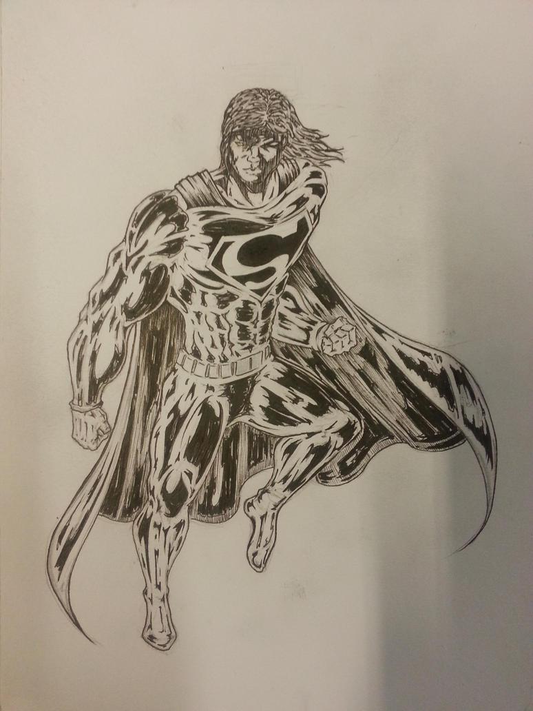 Superman - WIP by Flo-Jitz