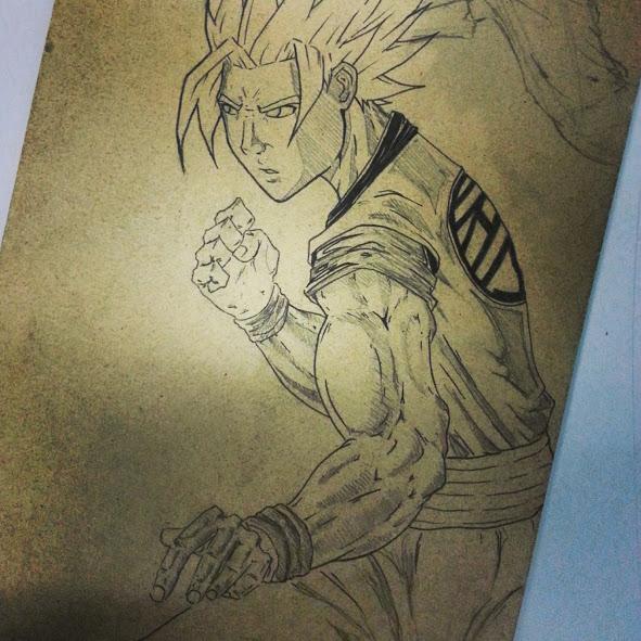 Goku by Flo-Jitz