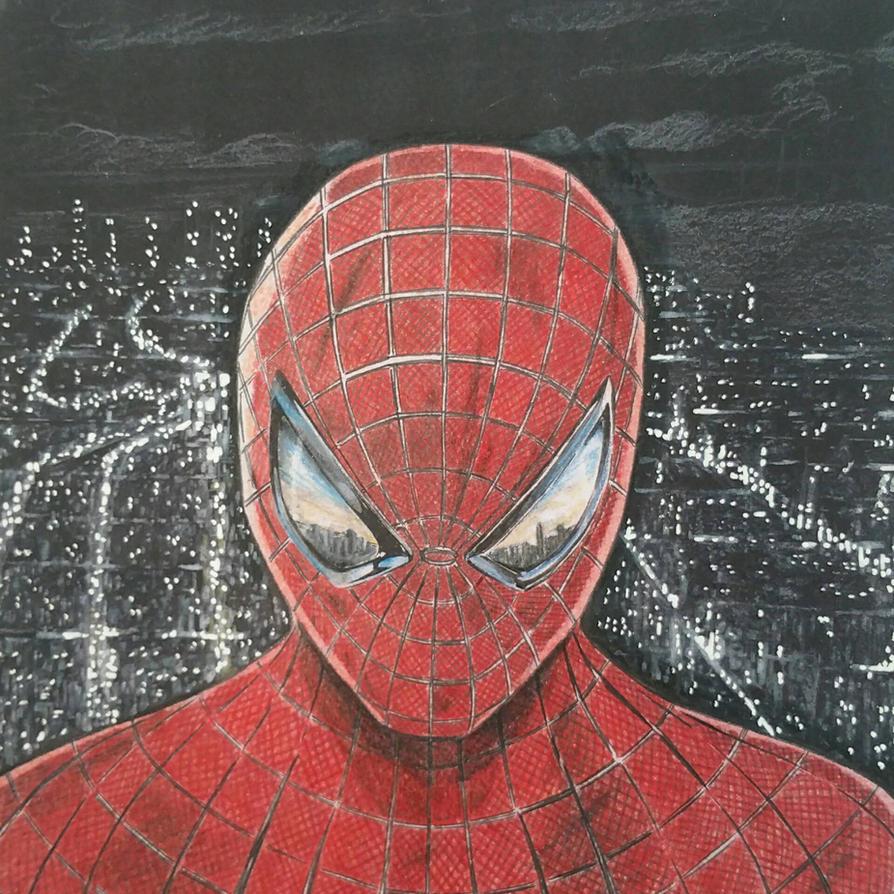 Spiderman - WIP  by Flo-Jitz