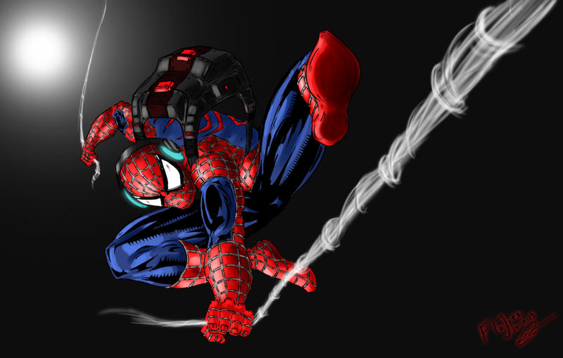 Spiderman by Flo-Jitz