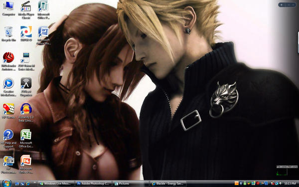 Cloud X Aeris Wall by Epsilon86