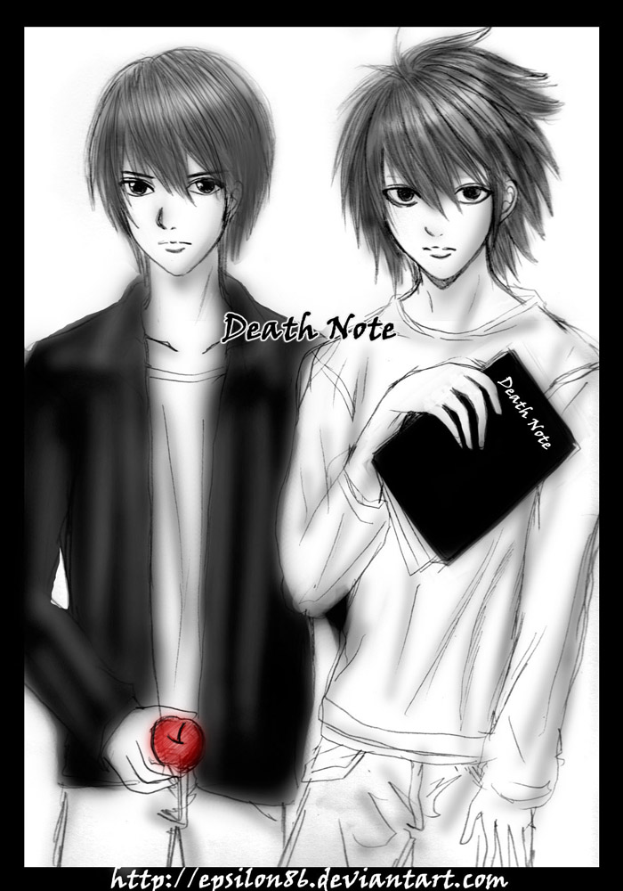 Death Note - Black and White by Epsilon86